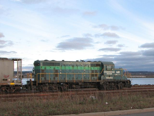 Courtenay Bay Potash switcher, Saint John