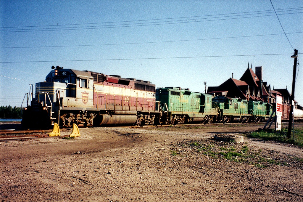 CDAC 40 at McAdam, NB 1998/05/12. Photo by Danny McCracken