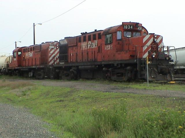 NBEC 1834 and 1866 in Miramichi, NB 2003/07/22