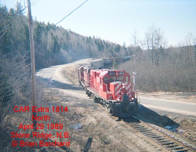 CP 1814, Stone Ridge, NB. Photo by Brian Barchard