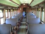 Inside a Passenger Car