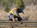 Track Maintenance in Miramichi, NB 2006/12/20