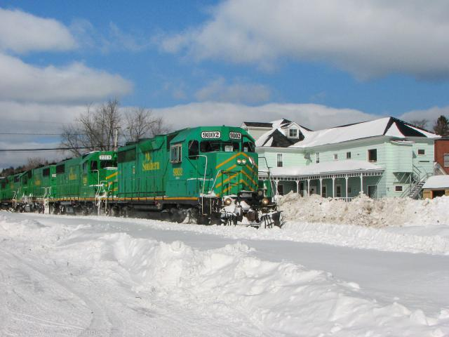 NBSR 9802 in Harvey, 2009/02/21