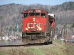 CN 5288 Arriving At Campbellton, NB 2009/05/04