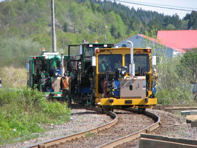 MOW Equipment in Saint John, NB 2009/05/25