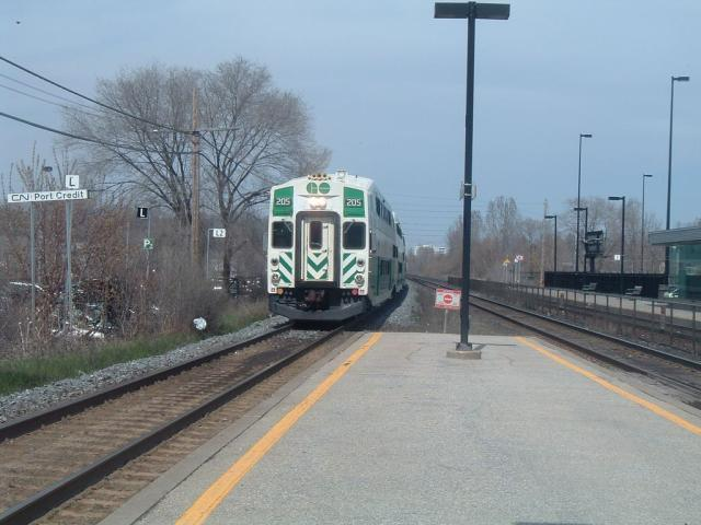 GO 205, Port Credit Ontario