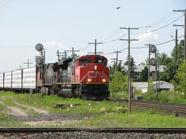CN 8822 in Winnipeg