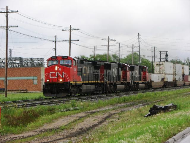 CN 2552 in Winnipeg Manitoba