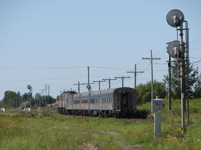 VIA Rail's Hudson Bay train