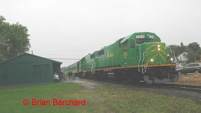 NBSR Passenger Train. Photo by Brian Barchard