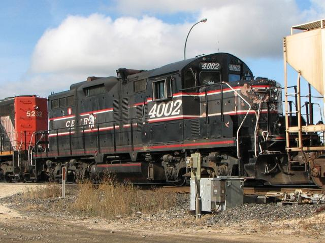 CEMR 4002 in Winnipeg, MB 2009/10/13