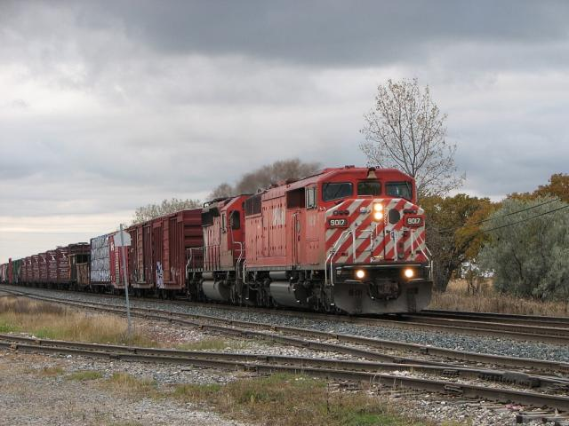 CP 9017 in Winnipeg