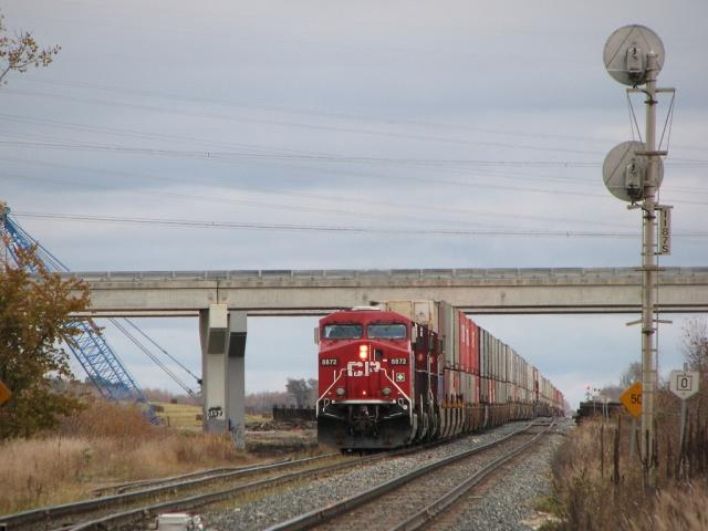 CP 8872 just east of Manson