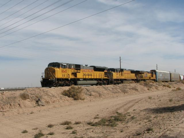 UP 8045, Maricopa, Arizona