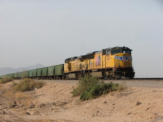 UP 4898 in Maricopa, AZ