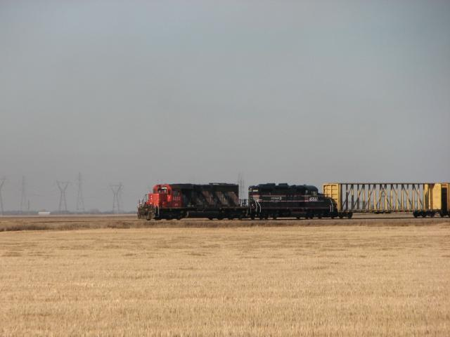 ANY 5232 and CEMR 4000 Leave Winnipeg, MB 2009/11/116