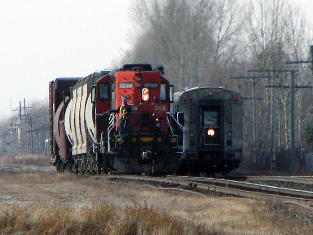 VIA Hudson Bay and CN slug