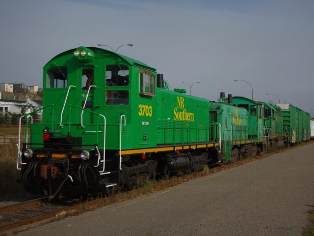 NBSR 3703 in Saint John, by David Morris