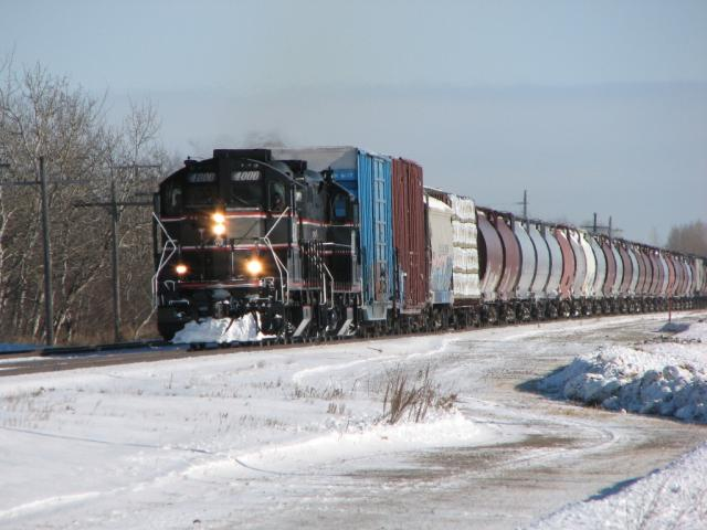 CEMR 4000 in Winnipeg, MB 2010/01/28