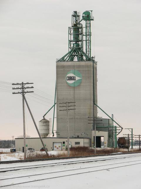 Cargill Grain Elevator at Transcona MB