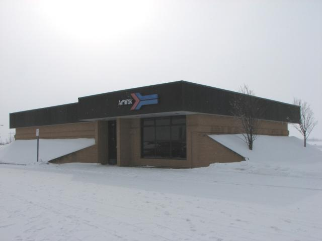 Amtrak station in Grand Forks North Dakota