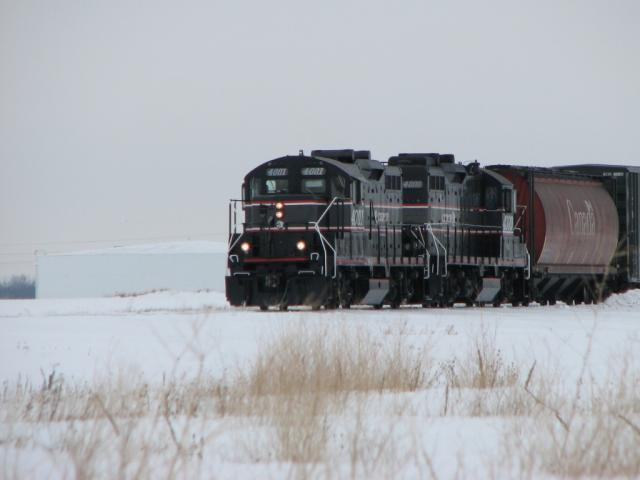 CEMR 4001 at Oak Bluff, MB 2010/02/11