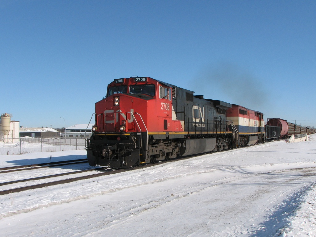 IC 2708 in Winnipeg, MB 2010/02/16