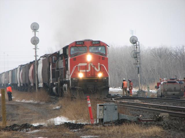 CN 2231 in Winnipeg