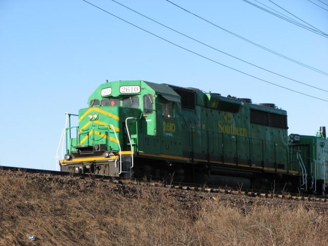 NBSR 2610 in Saint John, NB 2010/03/16