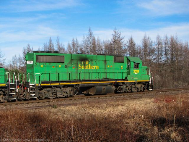 NBSR 2318 in Grand Bay-Westfield, NB 2010/03/17