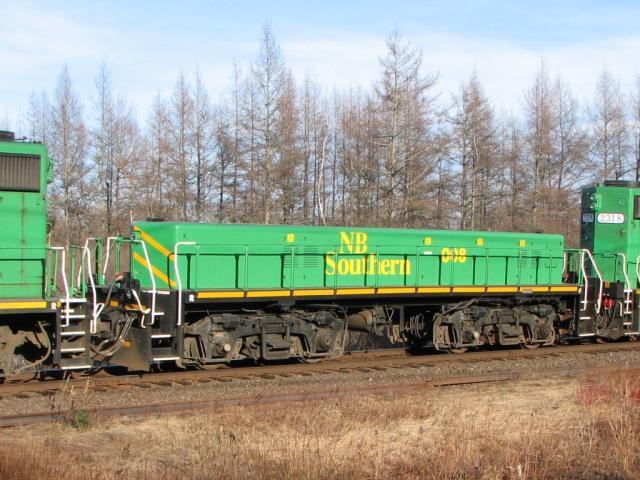 NB Southern Railway slug 008