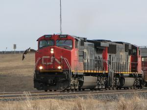 CN 2627 in Winnipeg, MB 2010/03/29