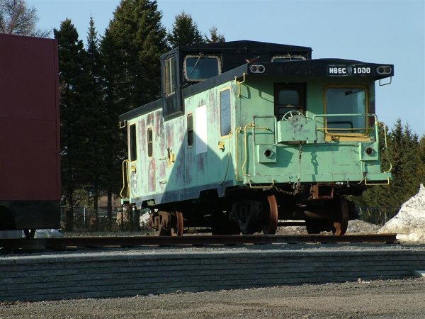 Former NBEC 1000 at St. Quentin. Photo by David Chiasson