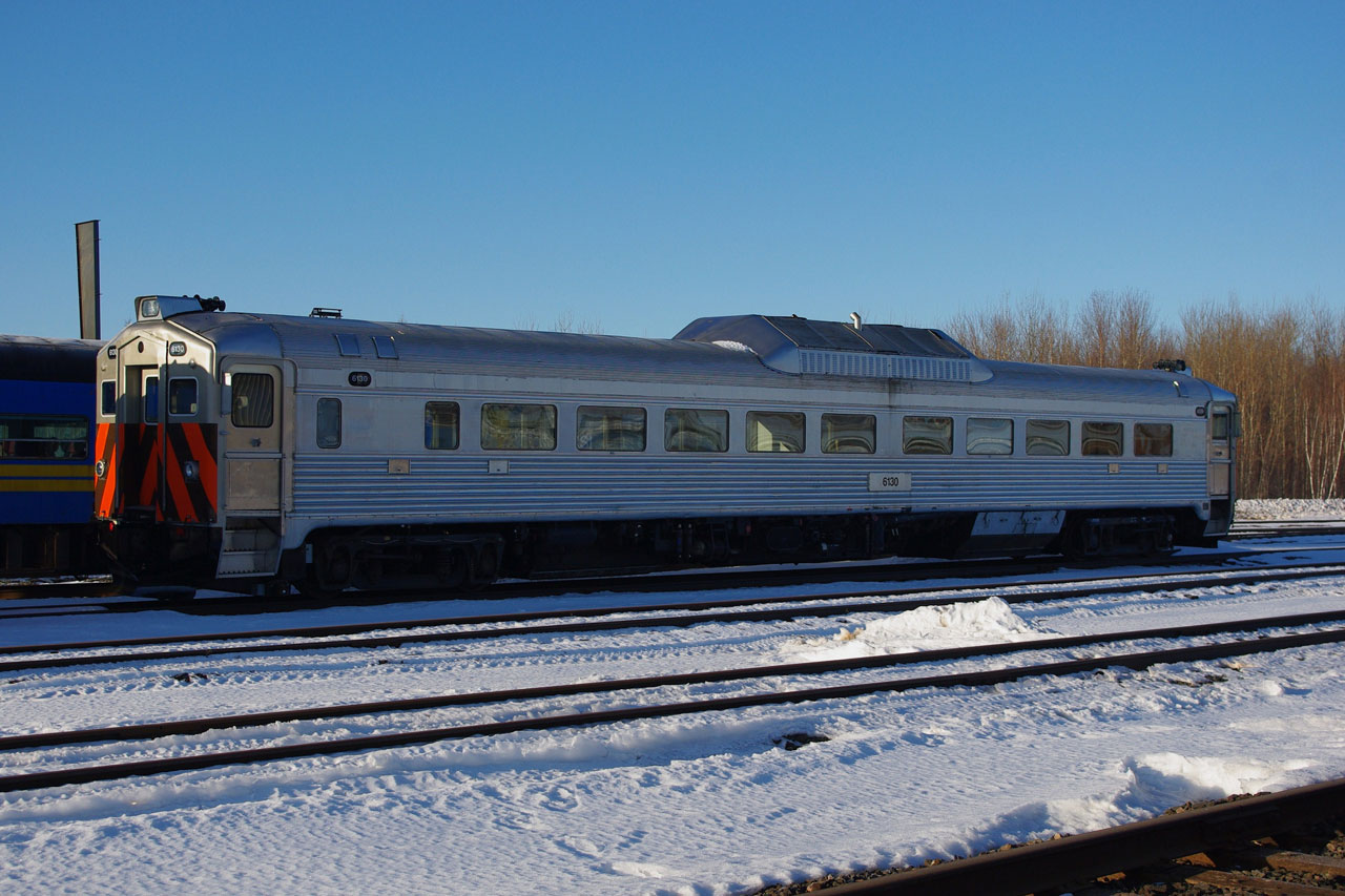 RDC 6130 at Moncton, NB 2010/03/12