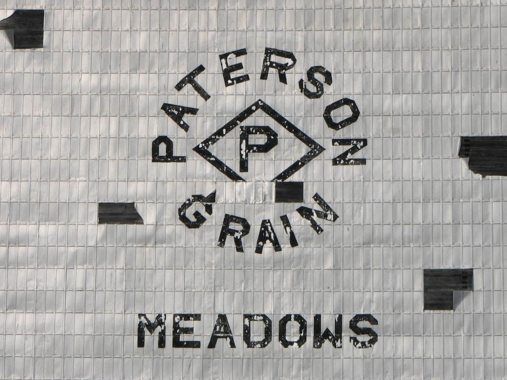 Grain Elevator in Meadows, MB 2010/03/13
