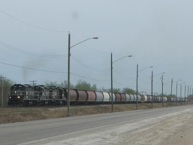 CEMR westbound train