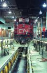 CN 2316 in Moncton, NB 1993/03/21. Slide by WA Gleason.