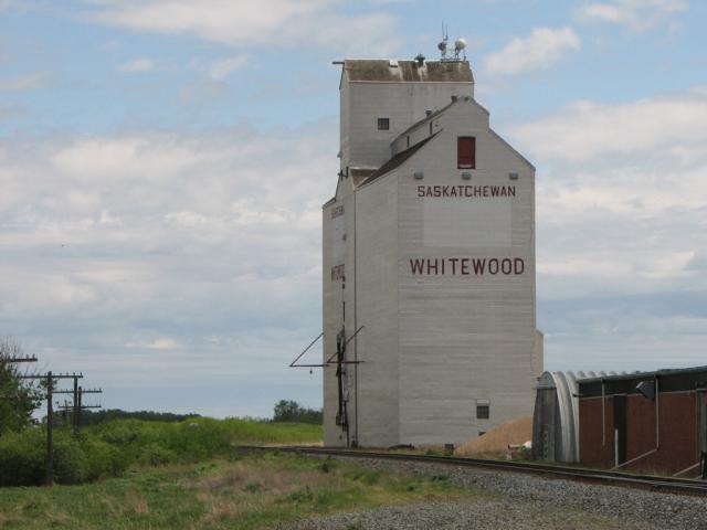 Grain elevator in Whitewood SK