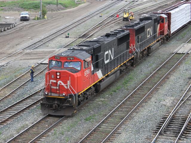 CN 5761 in Edmonton, Alberta