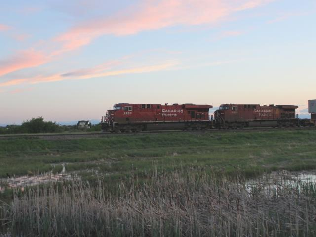 CP 8800 in Indus, Alberta
