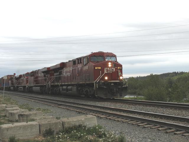 CP 8755 at Keith, AB