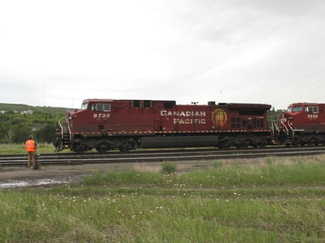 CP 9738 at Keith, AB