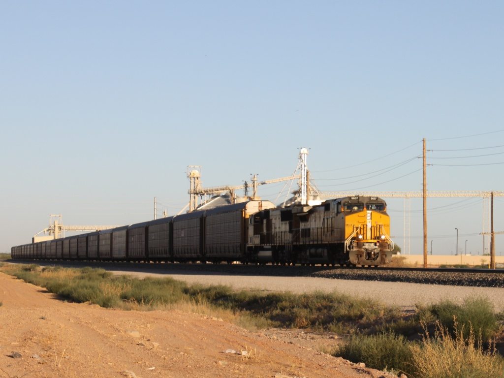 UP 9657 in Maricopa, AZ 2010/06/21
