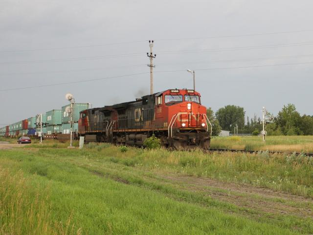 CN 2666 at Portage la Prairie, MB