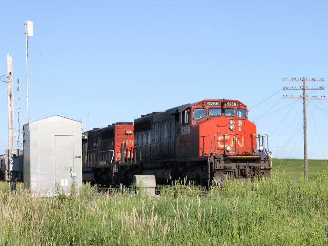 CN 5266 in Winnipeg