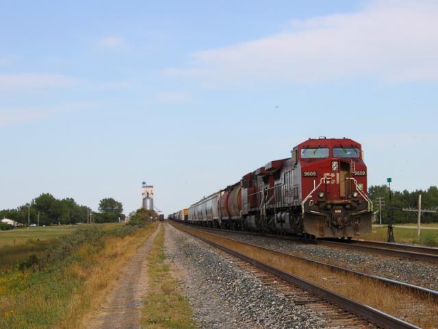 CP 9609 in Chaplin Saskatchewan