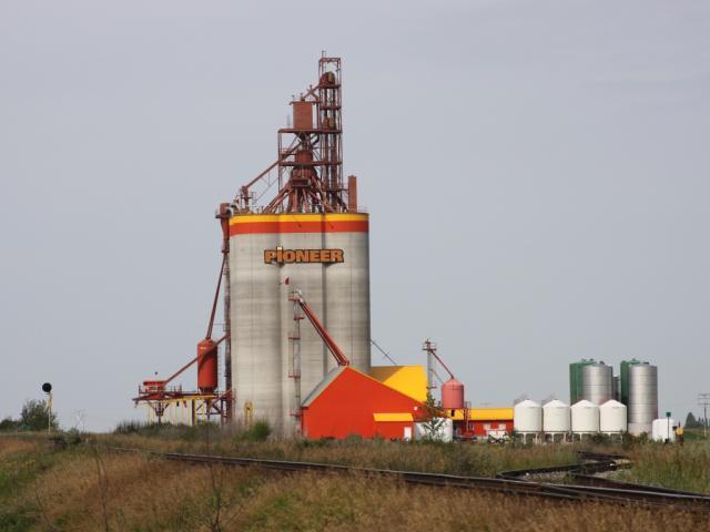 Pioneer elevator at St Josephs Saskatchewan