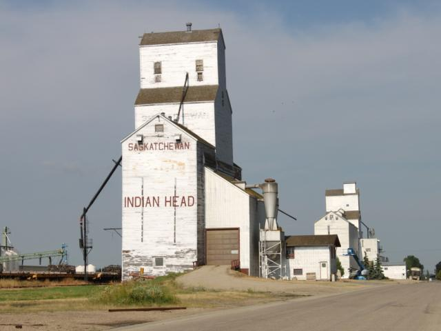 Indian Head grain elevator