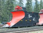 CP plow 400762 in Banff, AB 2010/08/08