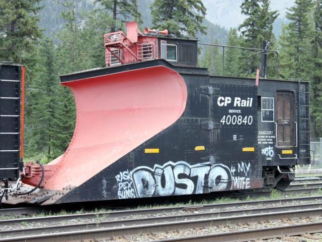 CP 400840 in Banff, AB